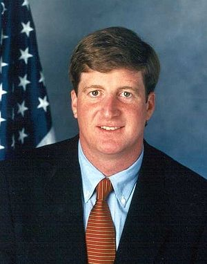 Patrick J. Kennedy - Earlier official Congressional photo of Kennedy.