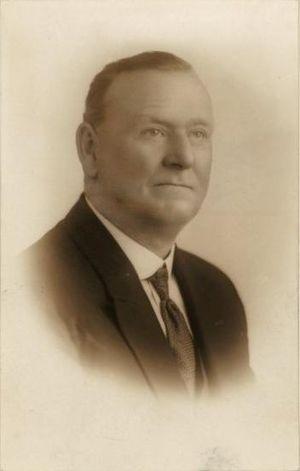 Municipality of Redfern - Patrick Mooney (1880–1942), Mayor (1925) and Senator for New South Wales (1931–1932).