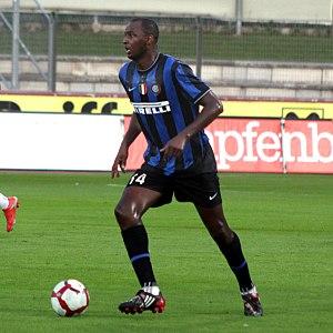 Patrick Vieira - Vieira playing with Inter