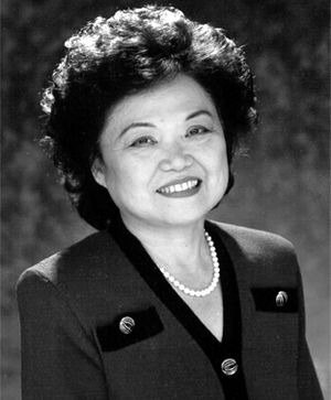 Title IX - Representative Patsy Mink of Hawaii, Title IX co-author, for whom the law was renamed in 2002.