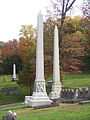 Paul (Robert Jr.) and Booth (J. J.), Allegheny Cemetery, 2015-10-27, 01.jpg