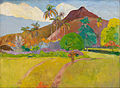 Paul Gauguin - Tahitian Landscape - Google Art Project.jpg