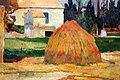 Paul gauguin, paesaggio presso arles, 1888, 02 covoni.jpg