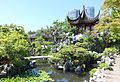 Pavilion with Tai Hu stones and pond - Dr. Sun Yat-Sen Classical Chinese Garden - Vancouver, Canada - DSC09884.JPG