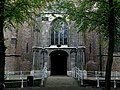 Pays-Bas Delft Oude Kerk Portail Ouest - panoramio.jpg