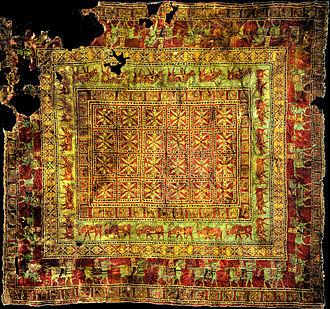 Armenian carpet - The Pazyryk rug