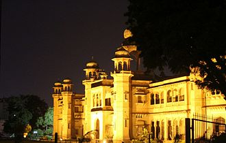 St. John's College, Agra - Night view
