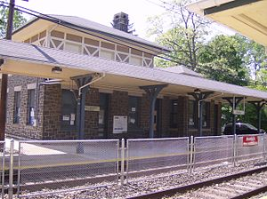 Lansdale/Doylestown Line - Penllyn station opened in 1930