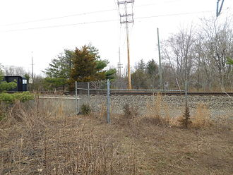 Princeton Branch - The former Penns Neck station site