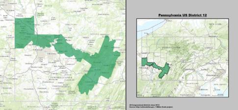 Pennsylvania S 12th Congressional District Wikipedia