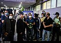 People gathering outside the Jam Hospital following the death of Mohammad-Reza Shajarian 2020-10-08 08.jpg