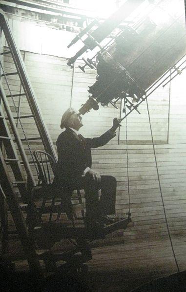 File:Percival Lowell observing Mars - Flickr - brewbooks.jpg