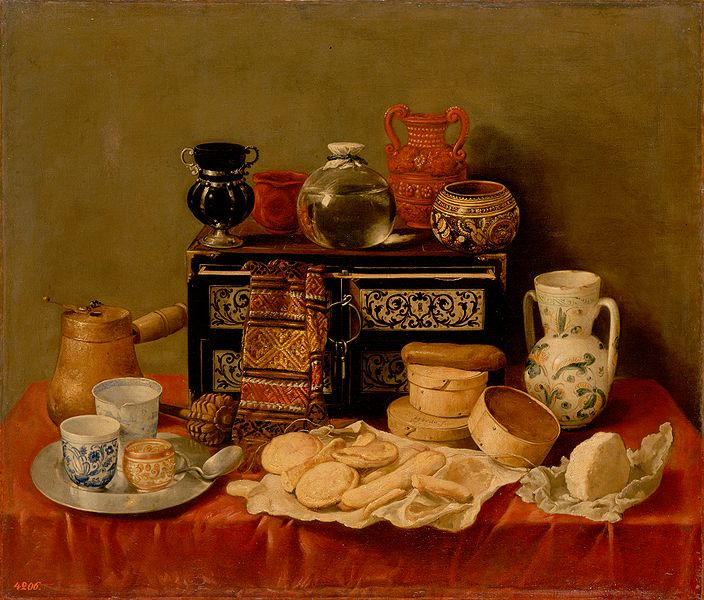 File:Pereda, Antonio de - Still Life with an Ebony Chest.jpg