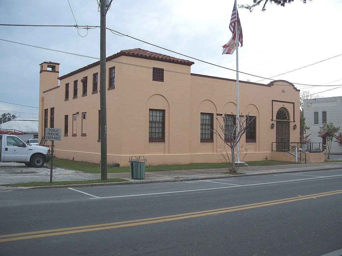 Old Perry Post Office Wikipedia - Us post office bradenton map