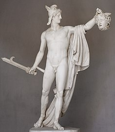 Perseus With The Head Of Medusa Wikipedia