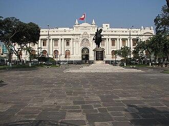 Politics of Peru - Congress of the Republic of Peru.