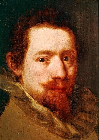 Peter Snayers - Portrait of Peter Snayers by Rubens