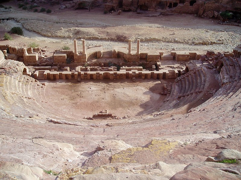 Soubor:Petra amphitheatre.jpg