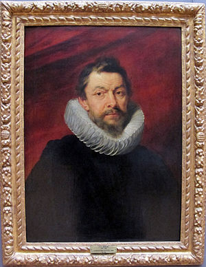 Great Council of Mechelen - Henri IV de Vicq, 12th President. Portrait by Rubens, Louvre.