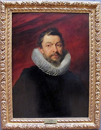 Great Council of Mechelen - Henri IV de Vicq, 12th President. Portrait by Rubens, Louvre.