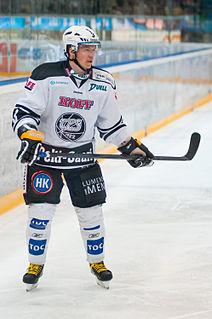 Petteri Nummelin Finnish ice hockey player