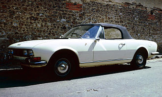 "Sergio Pininfarina - Sergio Pininfarina's design for the Peugeot 504 Cabriolet created a car described recently in Auto, Motor und Sport as ""the most beautiful Peugeot to date""."