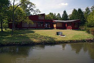 Antonin Raymond - Summer House, Karuizawa (1933), today part of the Peynet Museum