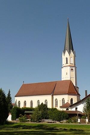 Aham - Image: Pfarrkirche Aham