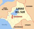 Ph locator lanao del sur binidayan.png