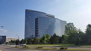 Pharmaceutical Product Development - PPD Headquarters in downtown Wilmington, NC