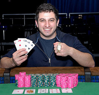 Phil Galfond - Galfond, after winning the $5,000 Pot-Limit Omaha w/Rebuys event at the 2008 World Series of Poker