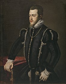 King Philip II of Spain Philip II portrait by Titian.jpg