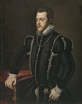 Philip II of Spain - Image: Philip II portrait by Titian