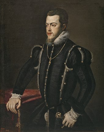 Philip II of Spain. Philip II portrait by Titian.jpg