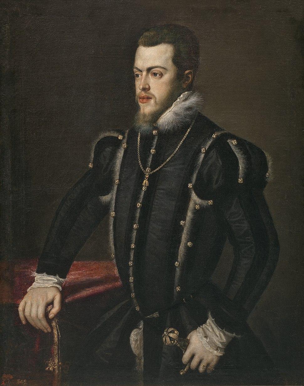 Philip II portrait by Titian