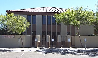 North High School (Phoenix, Arizona) - The original building built in 1939, of the once North Phoenix High School, now North High School (1954)