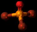 Phosphoryl bromide molecule ball.png
