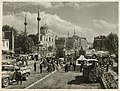 Photo showing the road construction in Aksaray in 1950's (14225994801).jpg