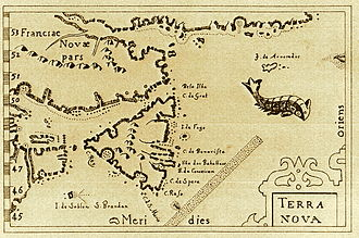 "Tilting, Newfoundland and Labrador - Fogo Island is one of the oldest named features in the New World, as indicated by its inclusion in the Pierre Bertius map of 1606 (""I. de Fogo"")."