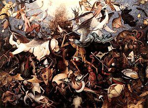 Pieter Bruegel the Elder - The Fall of the Rebel Angels
