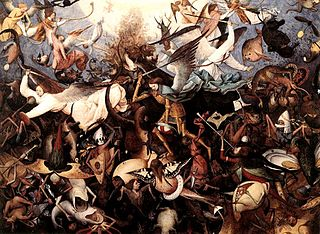 The Fall of the Rebel Angels, Pieter Bruegel the Elder 1562