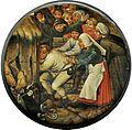 Pieter Brueghel II (circle) - Het botste tegen de varkensstal.jpg