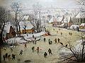 Pieter bruegel il giovane (da bruegel il vecchio), paesaggio invernale con trappola per uccelli, 03.JPG