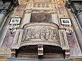 Pieve di marti, interno, affreschi di anton domenico bamberini 06 pulpito.JPG