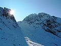 Pikes crag and scafell crag in snow 2010.jpg
