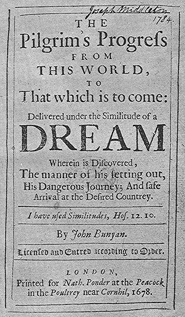 File Pilgrim S Progress First Edition 1678 Jpg Wikimedia