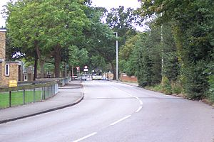 Army Training Centre, Pirbright - Pirbright Camp entrance