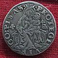 Pisa, grosso di carlo VIII di francia, 1494-95, argento.JPG