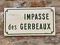 Plaque Impasse Gerbeaux - Solutré-Pouilly (FR71) - 2021-03-02 - 1.jpg