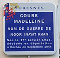 Plaque Suresnes Noor Inayat Khan.jpg